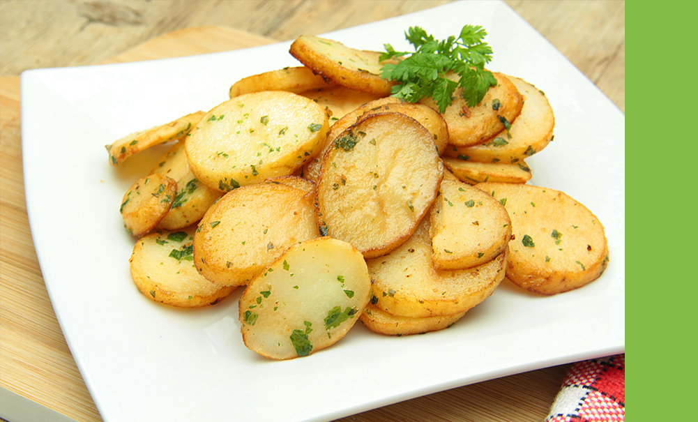 Sauté de pommes de terre ail persil