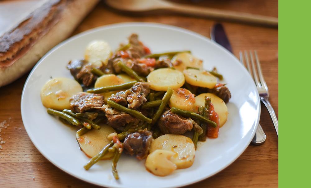 Sauté de pommes de terre au thym
